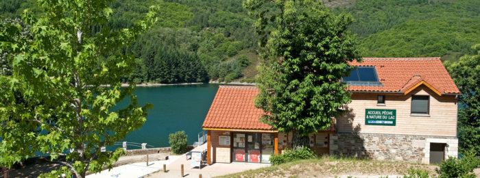 FISHING AND NATURE HOUSE VILLEFORT LAKE